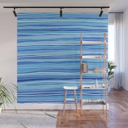 Classic Coastal Stripes Wall Mural