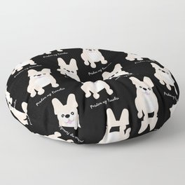 Pardon My Frenchie French Bulldog Floor Pillow