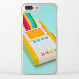 Here's your receipt. Clear iPhone Case