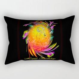 Zodiac sign Leo  Happy Birthday Rectangular Pillow