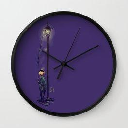The lamplighter Wall Clock