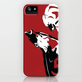 A Wolf's Bloodlust iPhone Case