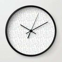 Menorah 18 Wall Clock