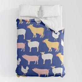Farm Friends Comforters