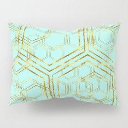 Hexagold Pillow Sham