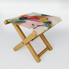 paysage abstract Folding Stool