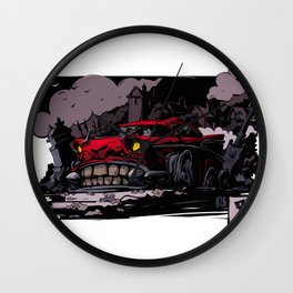 The corpse. Beasted-up. Wall Clock