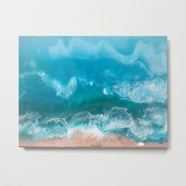 I Dream of Turqouise Seas Metal Print