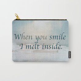 When you smile Carry-All Pouch