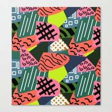 Abstract quilt Canvas Print