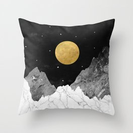 Moon and Stars Throw Pillow