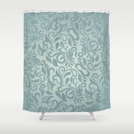 Beautiful Elegant Damask Pattern Shower Curtain