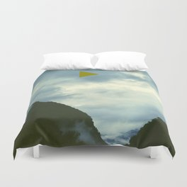 From the Side of the Road Duvet Cover
