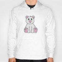 polar bear Hoodies featuring Polar Bear by BlackBlizzard