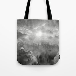Black and White - Wish You Were Here (Chapter I) Tote Bag