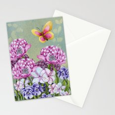 Fanciful Garden Stationery Cards