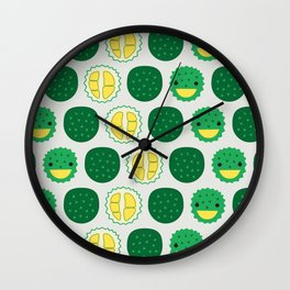 Dotty Durians II - Singapore Tropical Fruits Series Wall Clock
