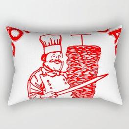 The Famous Döner Kebab Rectangular Pillow