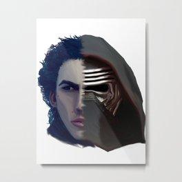 Ben Solo / Kylo Ren Metal Print
