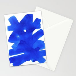 Superwatercolor Blue Stationery Cards