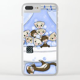 The Swimming Hole Clear iPhone Case