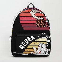 Funny Woman who likes Gamling Gift Backpack