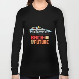 Back to the future: Delorean Long Sleeve T-shirt