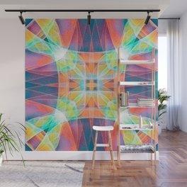 Fractal Prism Wall Mural