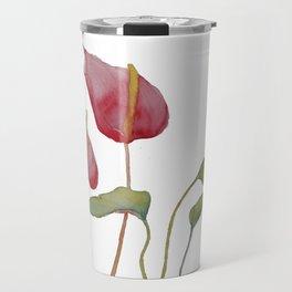 Anthurium Travel Mug