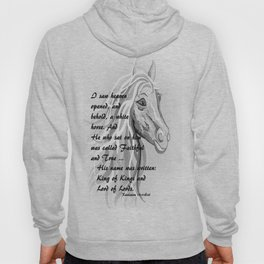 White Horse of a King Hoody