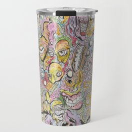 funky horror Travel Mug