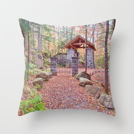 A Quiet Place Throw Pillow