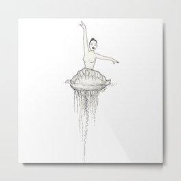 Ballet dancer Metal Print