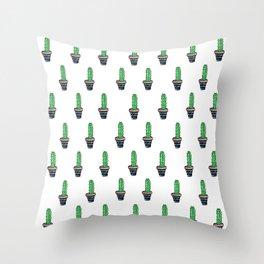 PATTERN II Geometric Cacti Throw Pillow