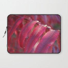 Radiant Red Sumac Leaves Laptop Sleeve