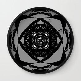 """Paranormal"" - (Original Digital Artwork by Vincent Ferraro) Wall Clock"