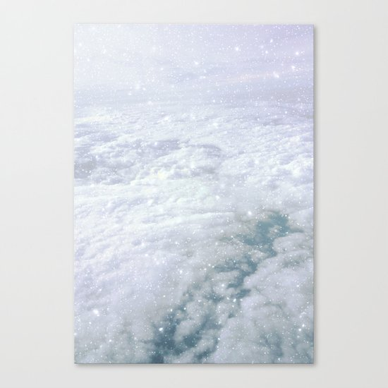 Stars in the Clouds Canvas Print