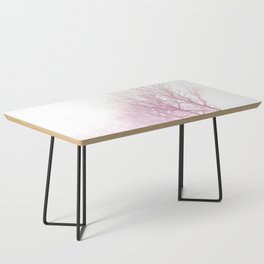 Pink winter trees Coffee Table