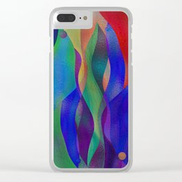 Colorflow Clear iPhone Case