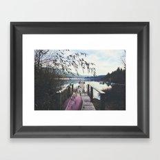 Dock 2 Framed Art Print