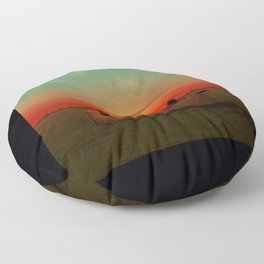 Atlanta donald Floor Pillow