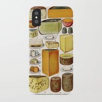 cheese iPhone & iPod Cases featuring CHEESE by Kathead Tarot/David Rivera
