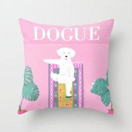 Dogue - Yoga Throw Pillow