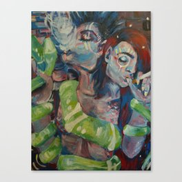 Amphisbaena I Canvas Print
