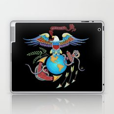 Eagle Globe & Anchor Laptop & iPad Skin