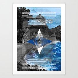 Lost. Art Print