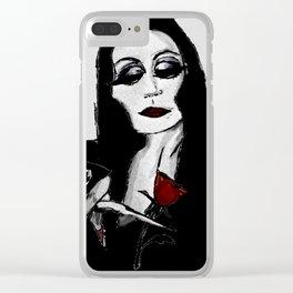 Morticia Clear iPhone Case