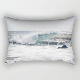 Malibu, mint, SoCal, beach photography, Los Angeles, beach, seaside, California, surf, California p Rectangular Pillow