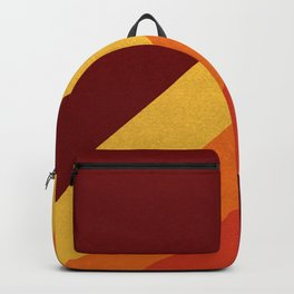 Retro 70s Color Palette II Backpack