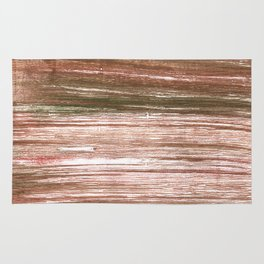 Light taupe abstract watercolor background Rug